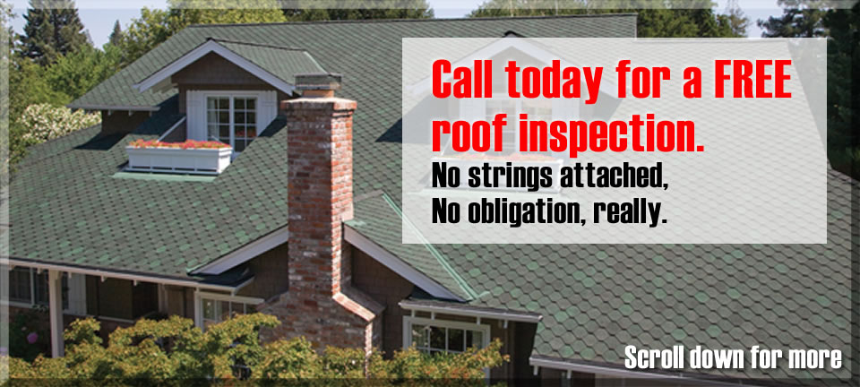 Call TTR for a Free roof inspection in the Denver area