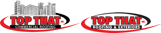 top that roofing logo commercial residential roofers denver