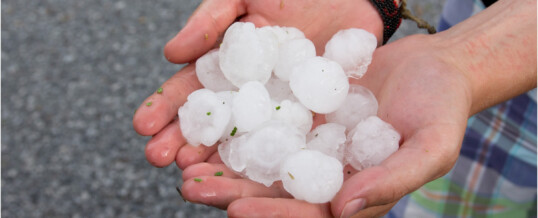 Hail Storm July 21st by Southlands